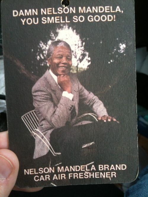 I wonder how they've captured the essence of Mandela.