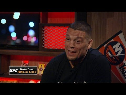 UFC ON FOX: Nate Diaz joins FOX Sports Live to talk win over McGregor
