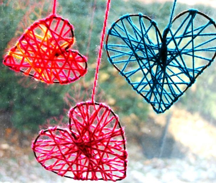 Идеи поделок на День Матери 12 chidren, heart