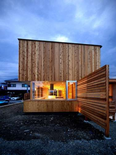 Modern Log Cabins - A Unique Wooden Home by Masaaki Okuno