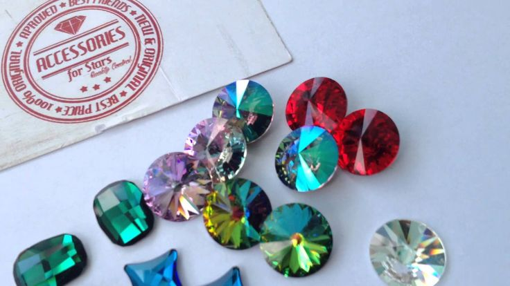 Swarovski Crystals - Accessories for Stars