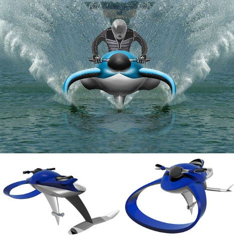 Fluid Designs: 12 (More) Water Vehicles to Float Your Boat | WebUrbanist