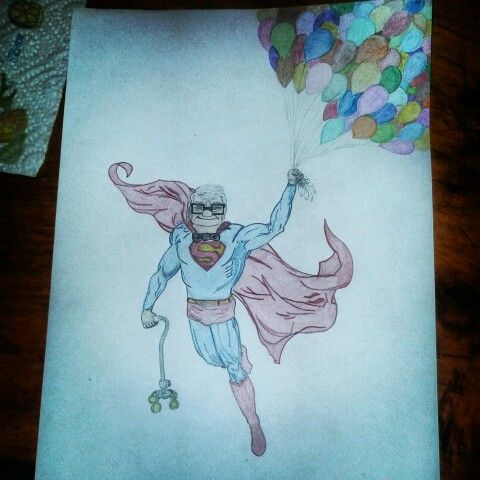 Grandpa Up Superman