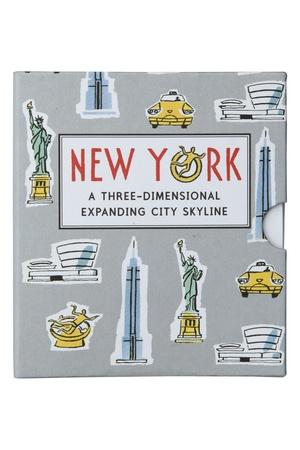 New York 3D Expanding City Skyline