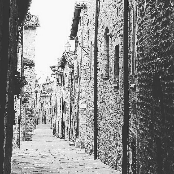 Street of Gubbio  #street #urban #art #love #beautiful #city #style #town #streetart #streetphotography #streetstyle #instagood #blackandwhite #photo #follow #photography #architecture #instapic #like #travel #volgoumbria #landscape #amazing #view #trip #architexture  #instagrammers #igers #instamood #followme by mar_s88
