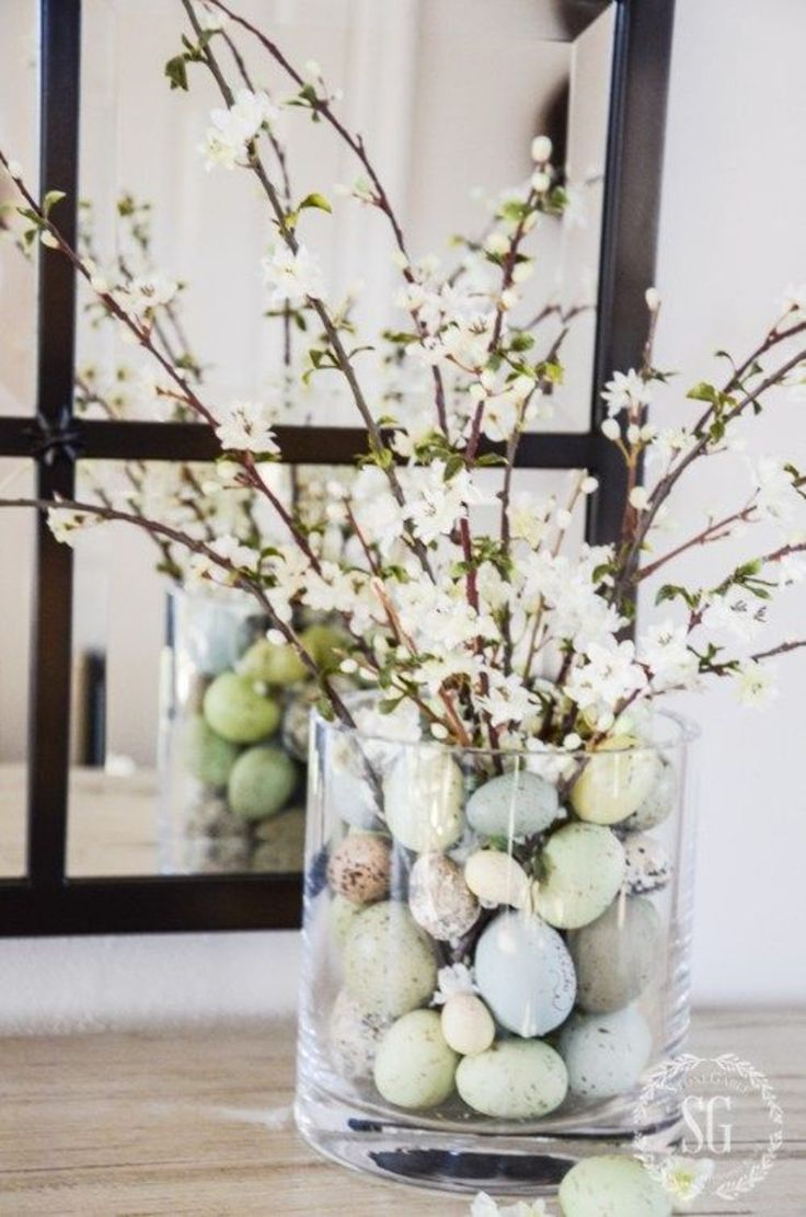 Centerpiece idea for Easter festivities