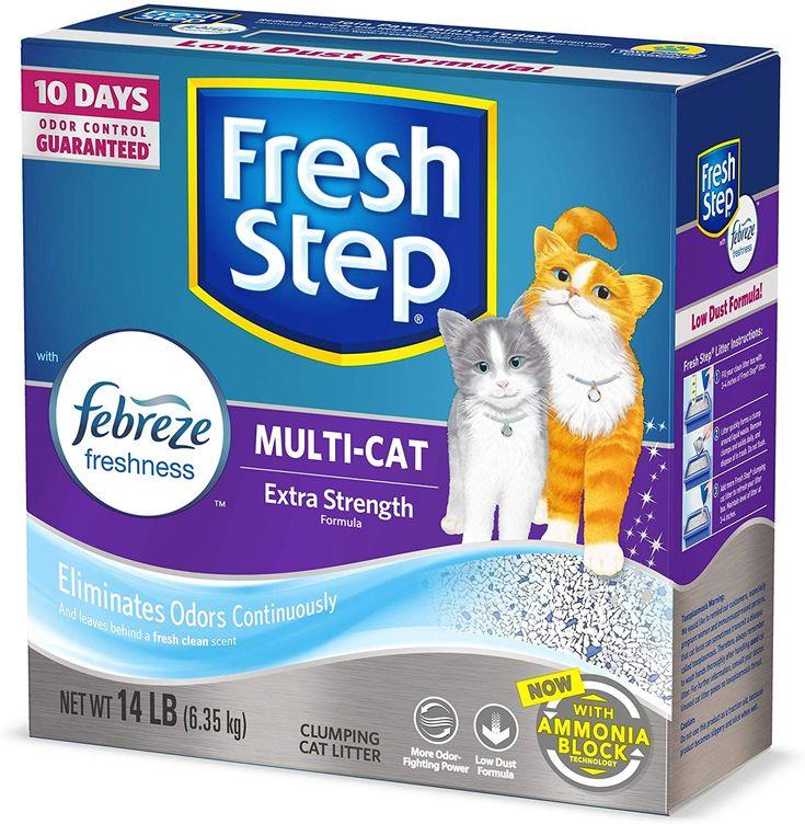 Fresh Step MultiCat Clumping Cat Litter 14 pounds just 6