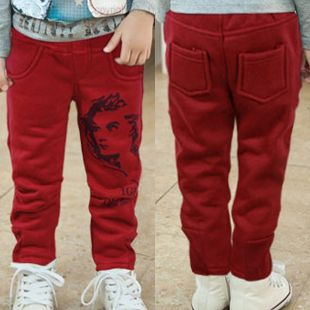 2013 korean version of the new fall and winter clothes children baby beauty big letters boys casual pants long trousers 4936 only $8.45USD a Piece