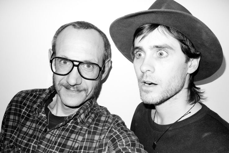 Terry & Jarred Leto - some of the work he has done with Jarred and a few otehr stars is amazing, tho not sure its suitable to post on here?!