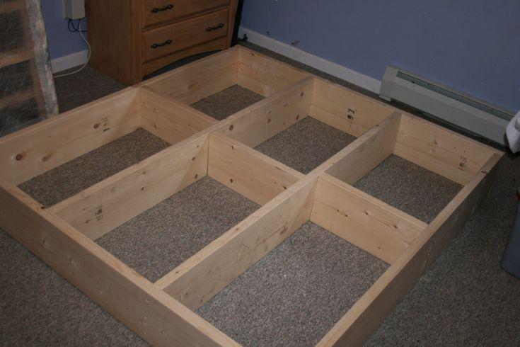 building a platform bed - Google Search