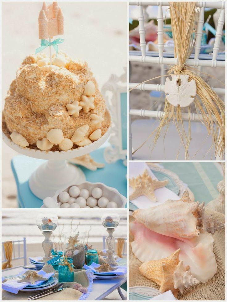 wedding shower centerpieces beach theme%0A Beach Wedding Shower Ideas   Wedding Shower Decoration   http   simpleweddingstuff blogspot
