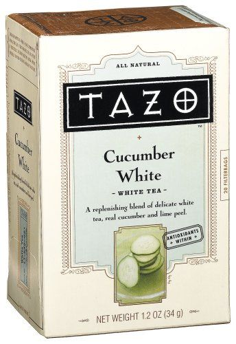 Tazo White Cucumber White Tea, 20-Count Tea Bags (Pack of 6) *** See this great product.