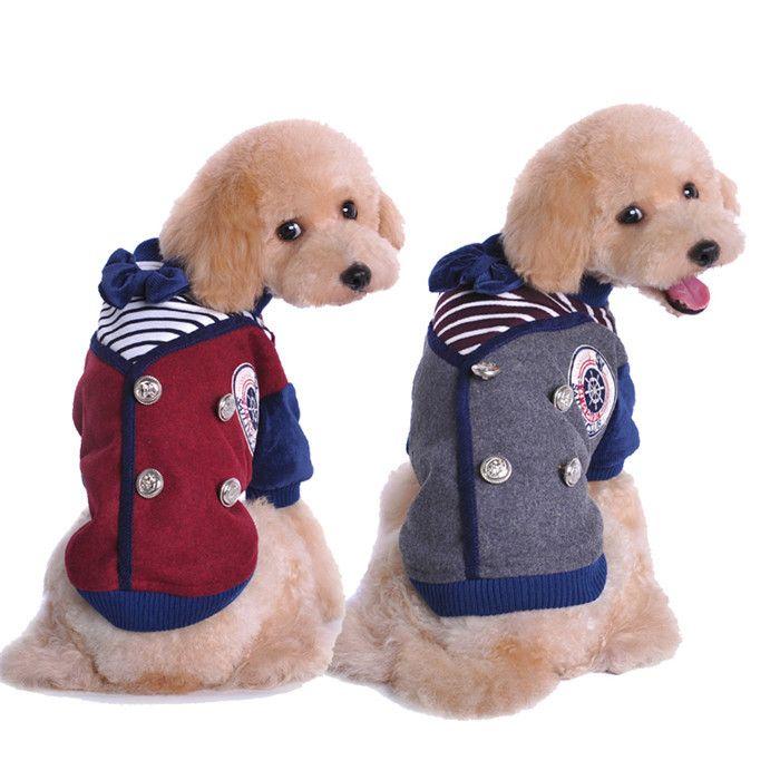 Домашнее животное школа форма стиль комбинезон XL домашнее животное одежда тёплый зима утолщение одежда пальто для собаки домашнее животное куртка зима