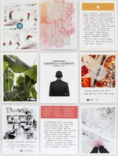 Project Life®️️ 2017: January 1 – 15