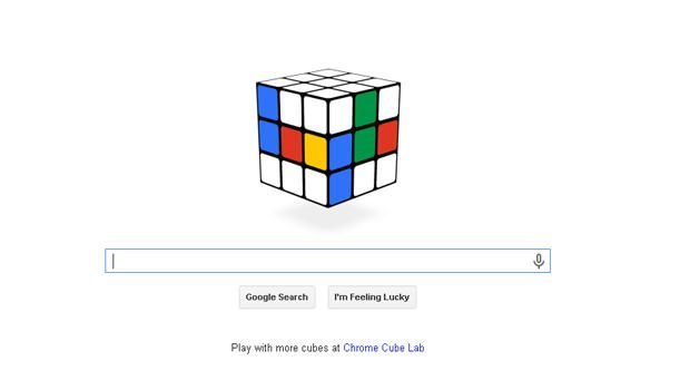 Google celebrates Rubik's Cube 40th anniversary with doodle you can play - CBS News