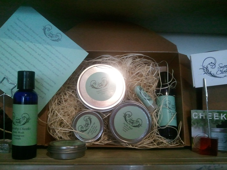 Sweet Cheeks! Local Handmade Beauty products from