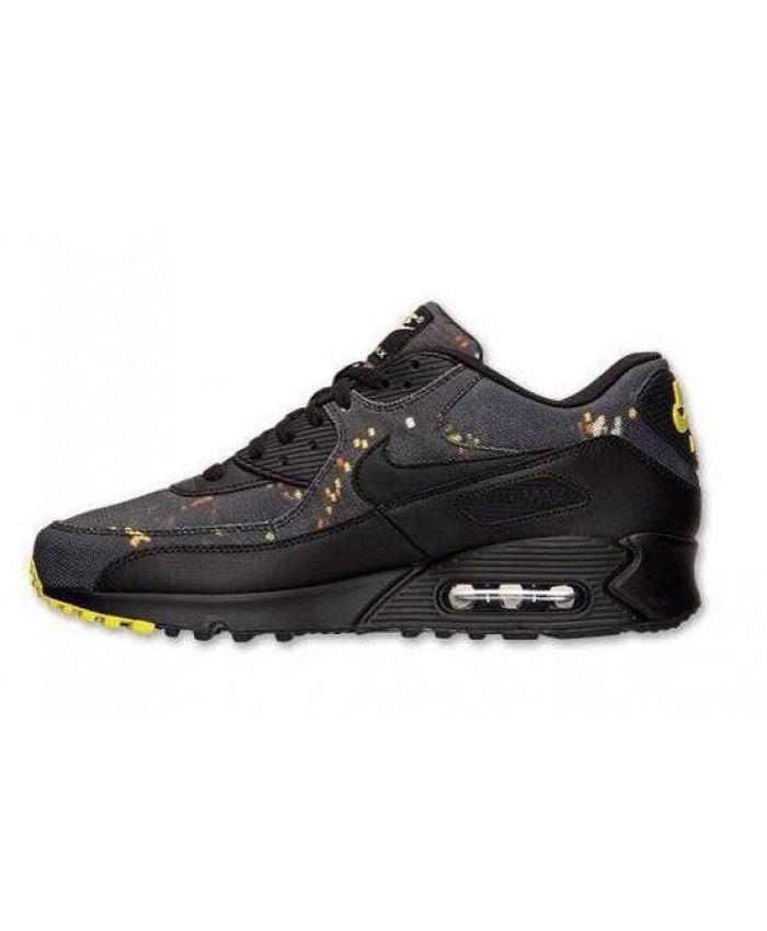 cfad2736b7074 Homme Nike Air Max 90 Noir Chaussures
