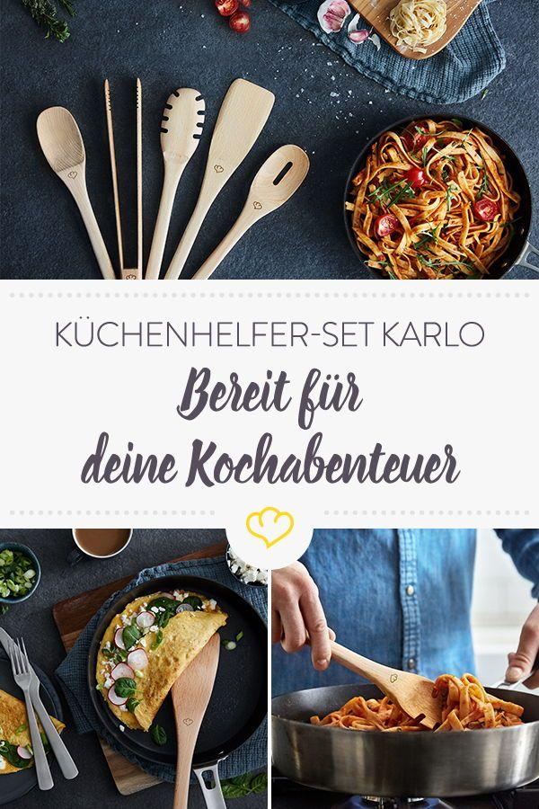 Karlo Kuchenhelfer Set 6 Tlg Kuchen Helfer Kuche Und Kuche Verschonern