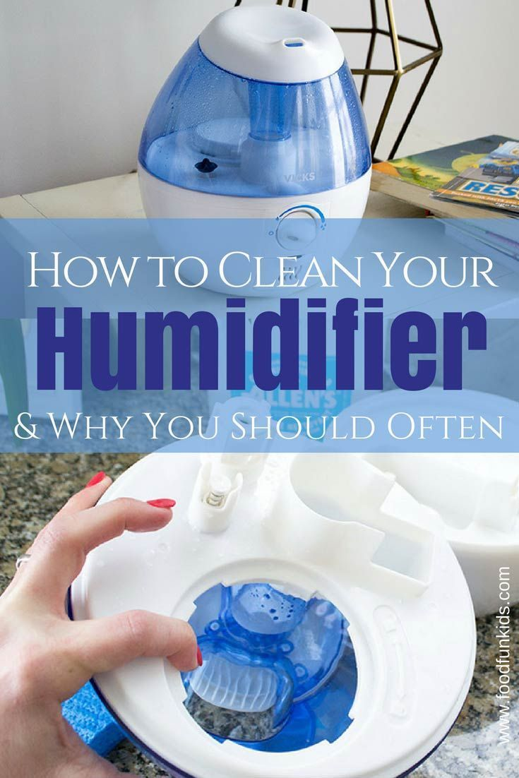 How To Clean Your Humidifier And Why You Should Often How To
