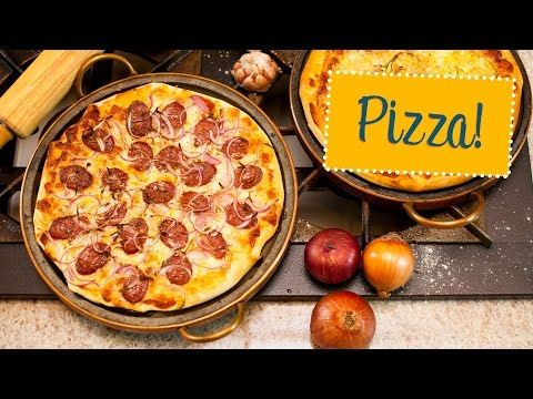 Receita de massa de pizza italiana - O Chef e a Chata - Lu Ferreira | Chata de Galocha!