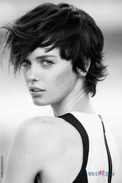 Naturalne krótkie włosy #polkipl
