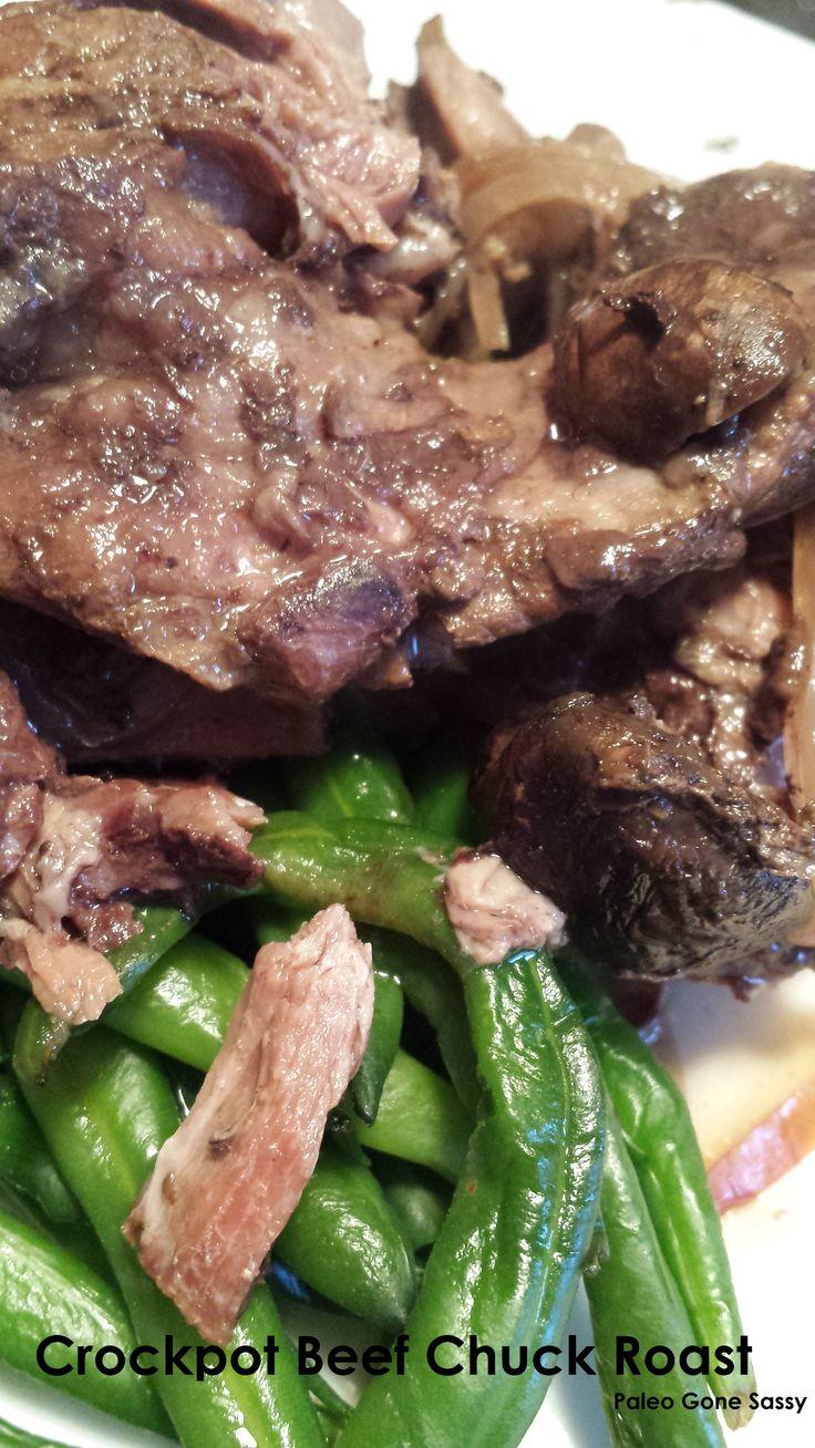 Crockpot Beef Chuck Roast