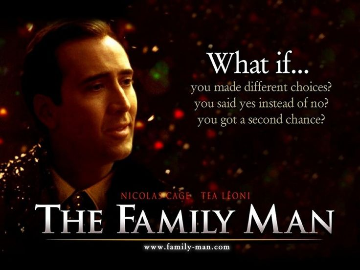 The Family Man...best movie ever!