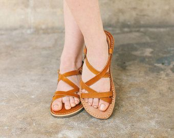 Handcrafted Men Women Gladiator Sandals Leather Sandals With