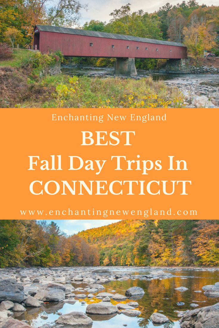 Best Fall Day Trips in Connecticut. Fall in New England.  Fall foliage in New England.  Foliage in Connecticut.  Day Trips in Connecticut. New England Road Trip.  Day Trips Connecticut.