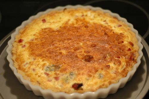 Sonkas pie (Quiche loraine)