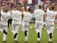 I'd take them over cheerleaders any day.