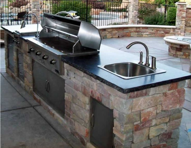 Pin By Lisa Closson On Yard Outdoor Kitchen Sink