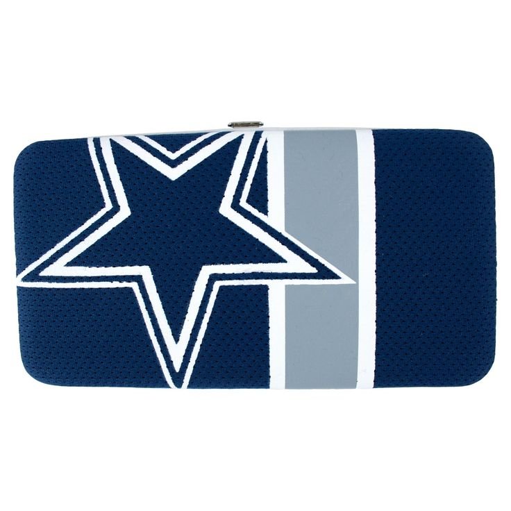 NFL Dallas Cowboys Shell Mesh Wallet, Women's