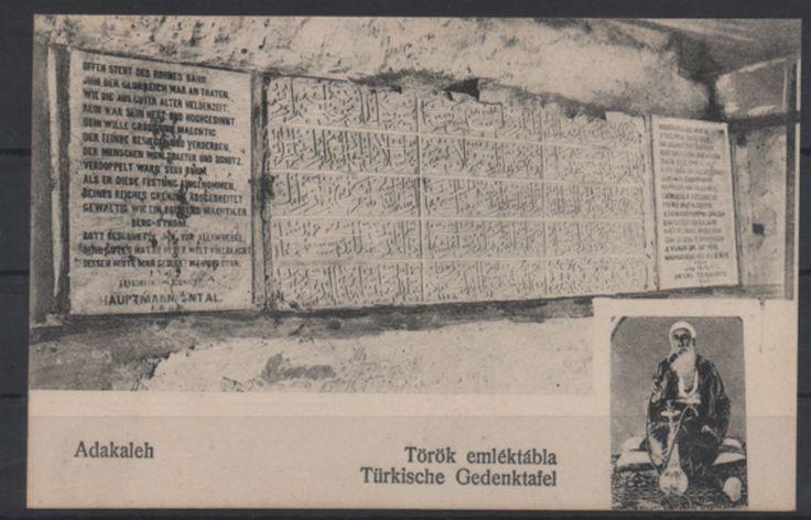1900s Turkey Romania Hungary ADA Kaleh Water Pipe Ottoman Graffiti PPC | eBay