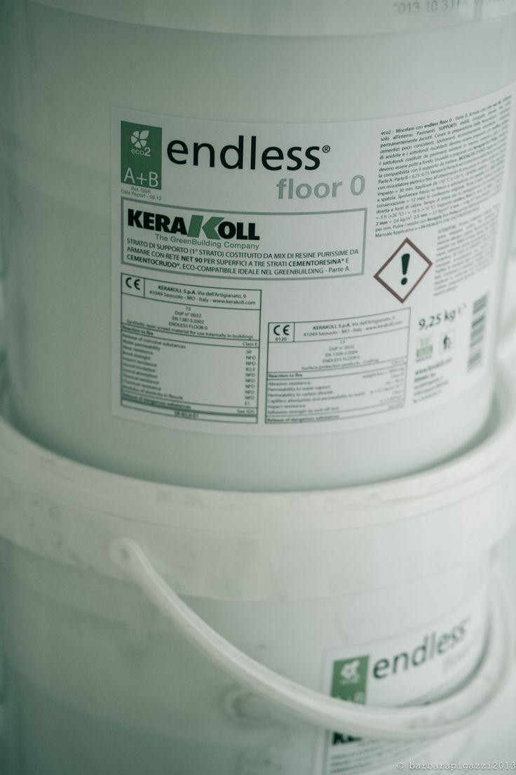 attese per la resina Kerakoll