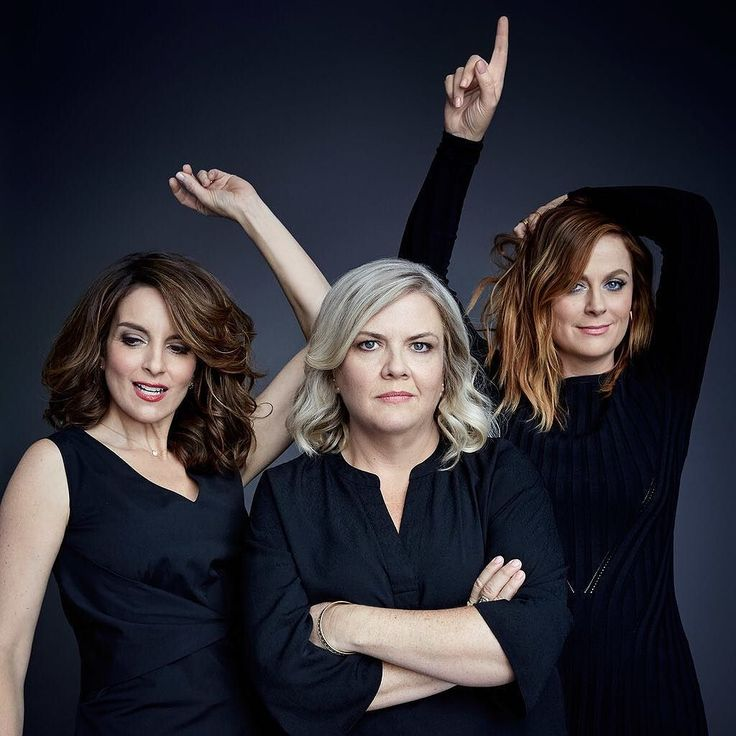 """@TIME's Art Streiber (@aspictures) photographed Tina Fey, Paula Pell, and Amy Poehler for """"Sisters"""", a comedy film written by Paula Pell that rolls out in theaters today. """"We all came to the..."""