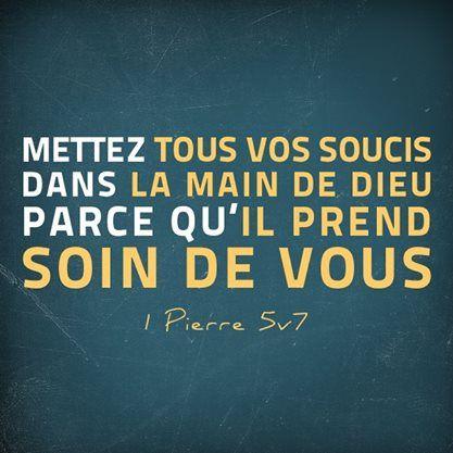 1 Pierre 5:7