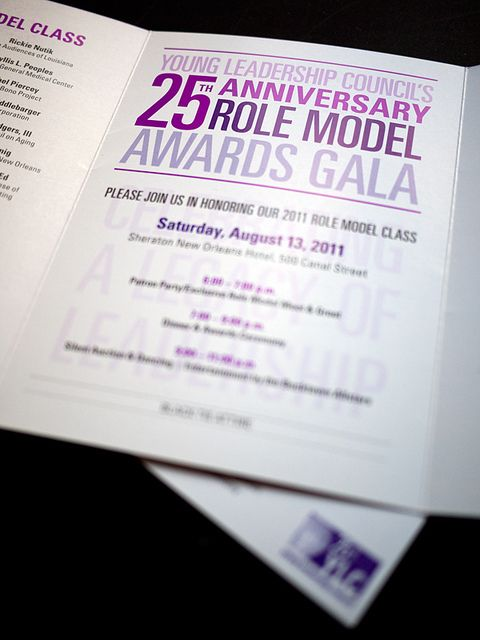 GALA INVITATION DESIGN