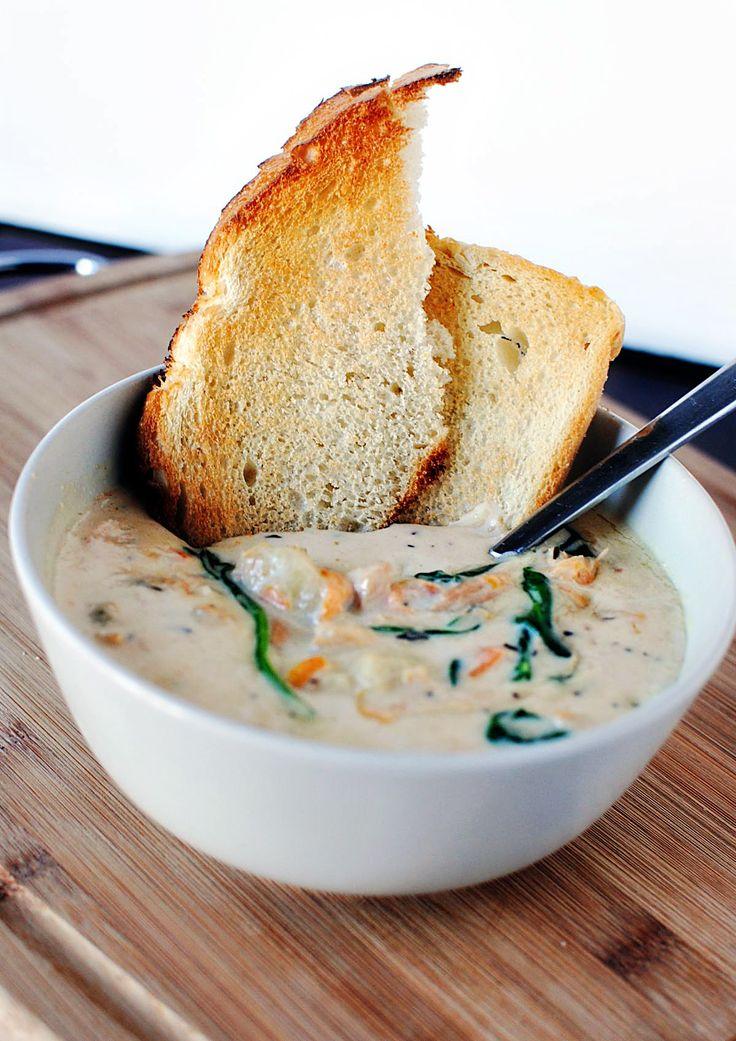 Quick Dinner Fixins: Olive Garden Chicken Gnocchi Soup