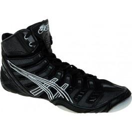 Asics Omniflex Pursuit Wrestling Shoes black-silver-white - Asics Wrestling Shoes - Wrestling Shoes - 2011 Wrestling Shoes - Wrestling Shoes for Sale
