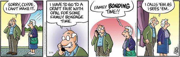 Pickles Comic Strip, March 14, 2015 on GoComics.com