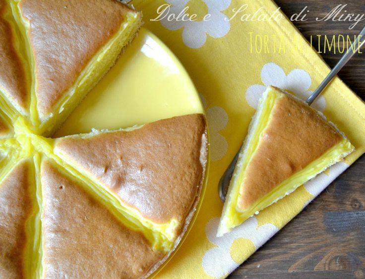 Ricetta torta al limone | Dolce e Salato di Miky