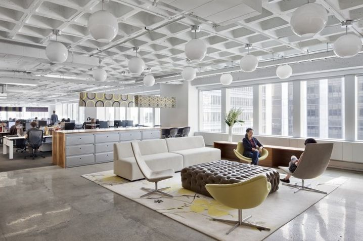 Modern industrial office design google search ideas for Office design new york
