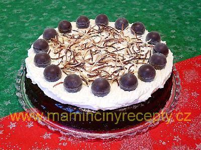 Kakaovo-jablečný dort