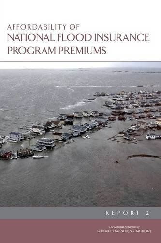 When Congress authorized the National Flood Insurance Program (NFIP) in 1968, it intended for the program to encourage community initiatives in flood risk management, charge insurance premiums consistent with actuarial pricing principles, and encourage the purchase of flood insurance by owners... more details available at https://insurance-books.bestselleroutlets.com/casualty/product-review-for-affordability-of-national-flood-insurance-program-premiums-report-2/