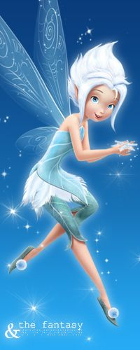 Periwinkle the winter frost fairy