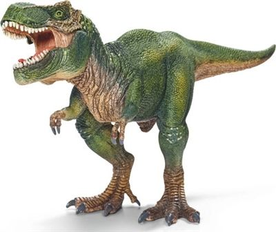 Schleich Dinosaur Tyrannosaurs Rex -   28cm solid plastic toy dinosaur from Schleich, made to last and perfect as a collectable or a gift. The main materials used are a variety of plastics and a special softener specifically designed so that small parts cannot break and to ensure the figures are pleasant to the touch and not too hard.