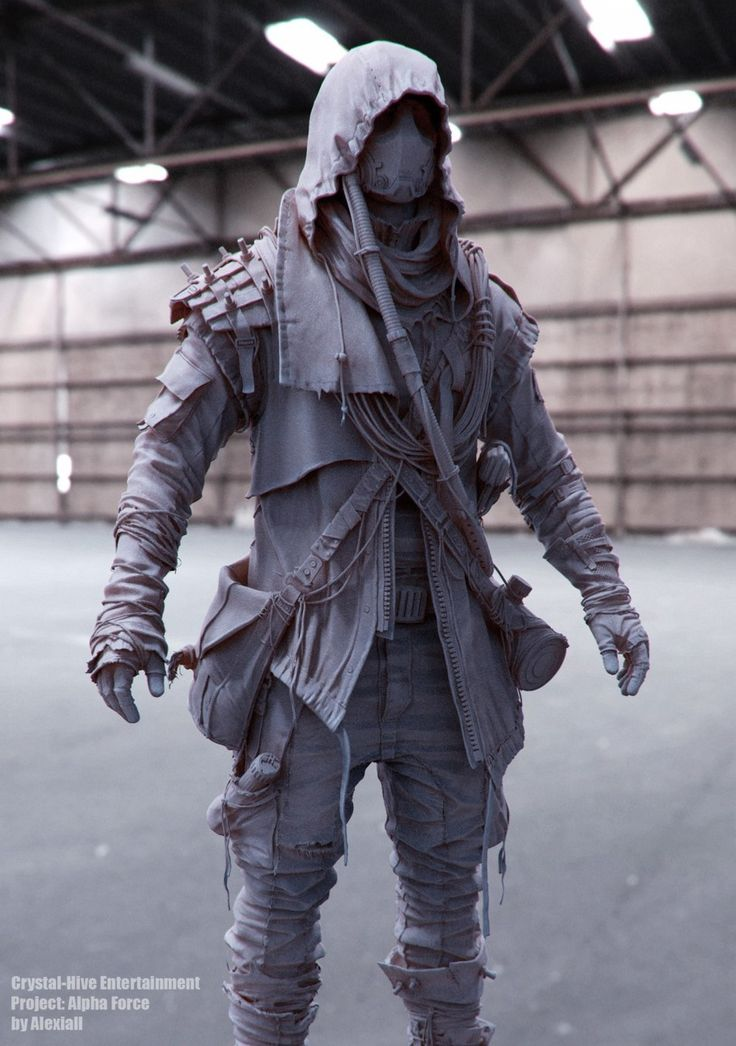 Post apocalyptic Character — Marcus by Alex Filiuk | Sci-Fi | 3D | CGSociety