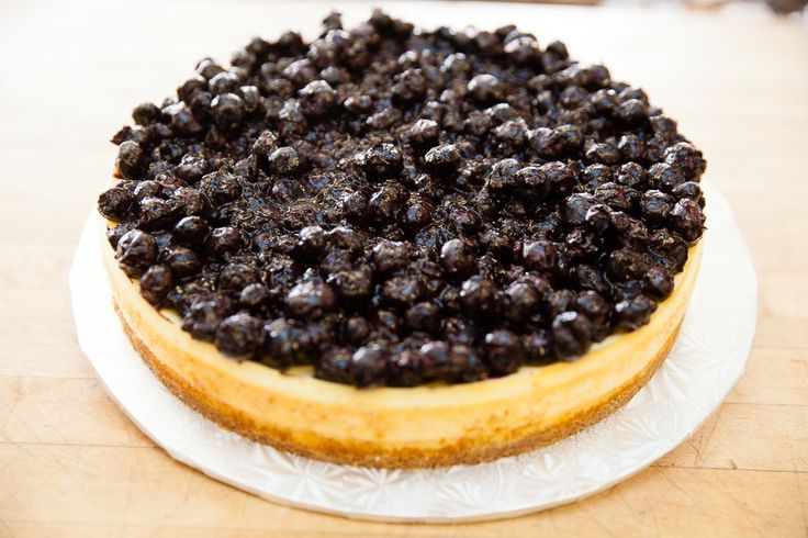 Blueberry cheesecake. Delicious, tasty. Order online http://www.ejoycity.ca