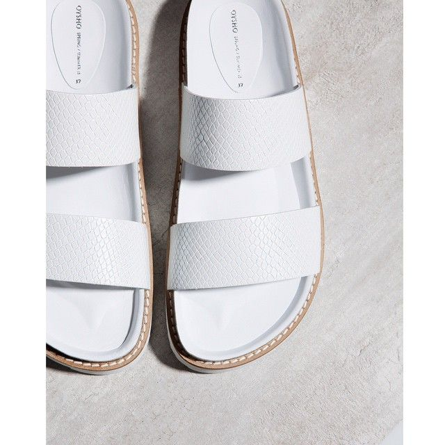 """Essentials for this Summer! White #sandals from our Footwear Collection✨ #Oysho #footwear #SS15"" Photo taken by @oysho on Instagram, pinned via the InstaPin iOS App! http://www.instapinapp.com (03/31/2015)"